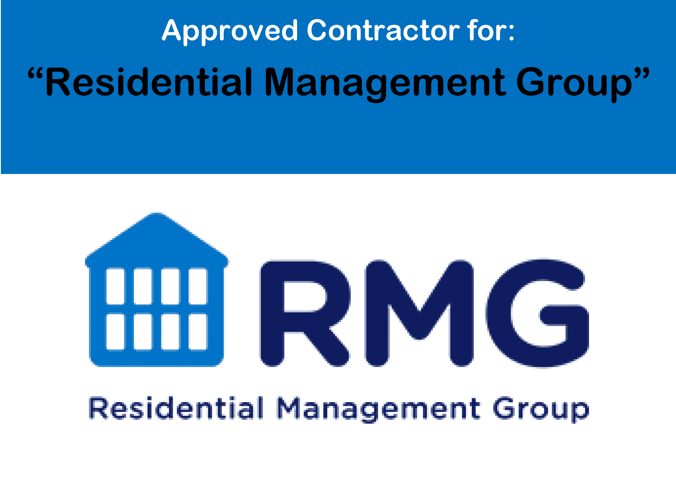 Residential Management Group (RMG) Logo